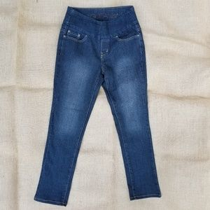 Jag Pull On Petite 2P XS Stretch Jeans High Rise
